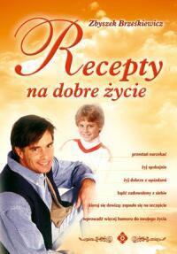 Recepty na dobre życie - Okładka książki