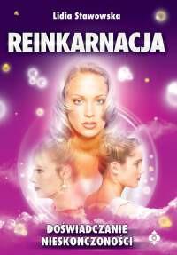 Reinkarnacja doświadczanie nieskończoności - Okładka książki