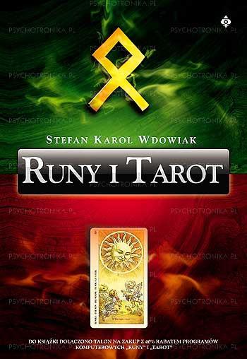 Runy i tarot - Okładka książki