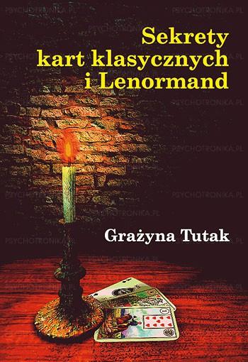 Sekrety kart klasycznych i lenormand - Okładka książki