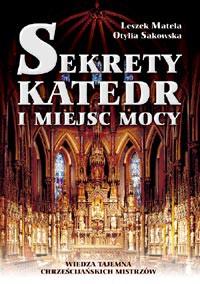 Sekrety katedr i miejsc mocy - Okładka książki