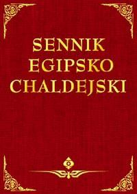 Sennik egipsko-chaldejski - Okładka książki