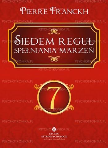 Siedem reguł spełniania marzeń - Okładka książki