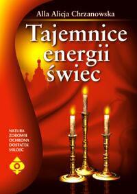 Tajemnice energii świec - Okładka książki