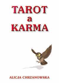Tarot a karma - Okładka książki