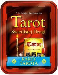 Tarot świetlistej drogi - Okładka książki