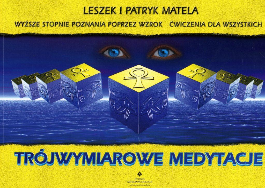 Trójwymiarowe medytacje - Okładka książki
