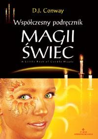Współczesny podręcznik magii świec - Okładka książki
