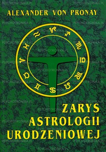 Zarys astrologii urodzeniowej - Okładka książki