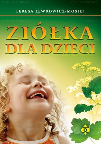 Ziółka dla dzieci - Okładka książki