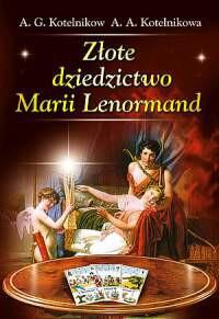 Złote dziedzictwo Marii Lenormand - Okładka książki