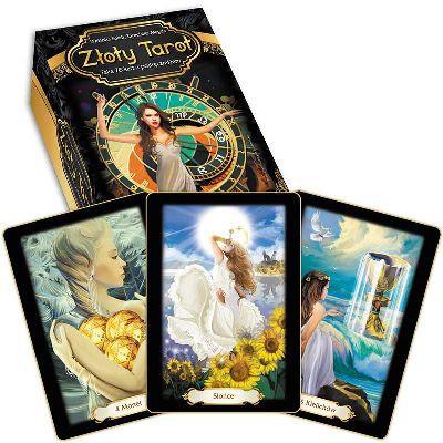 Złoty tarot (karty + książka) - Okładka książki