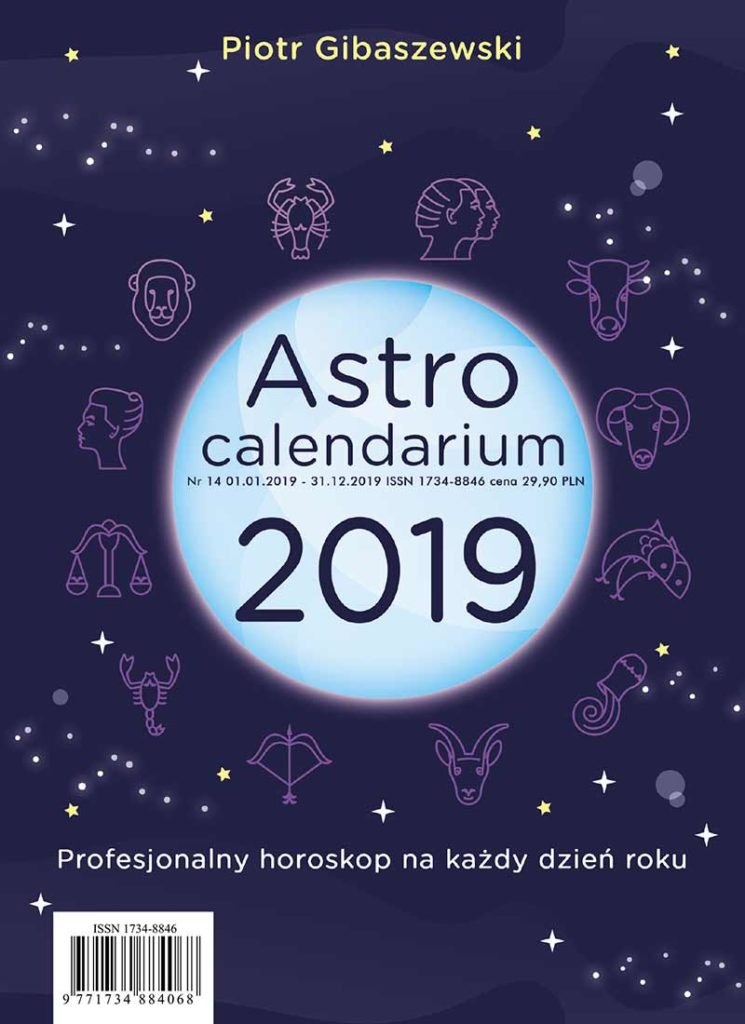 AstroCalendarium 2019 - Okładka książki