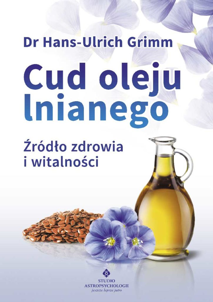 Cud oleju lnianego - Okładka książki