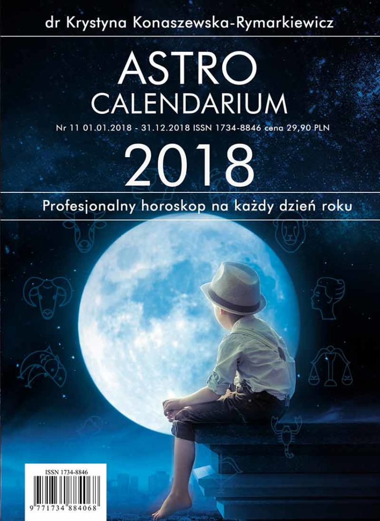 Astrocalendarium 2018. Profesjonalny horoskop na każdy dzień roku - Okładka książki
