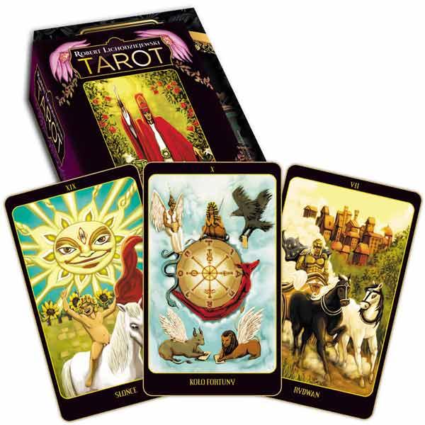 Tarot karty – 78 kart - Okładka książki