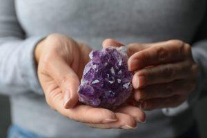 Kryształy ochronne - ametyst